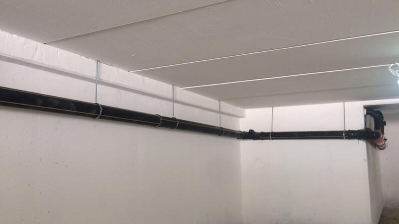 צנרת תלויה ™UltraSilent™ Ultra Beton